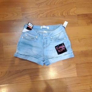 New soft denim shorts